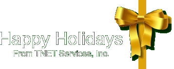 Happy Holidays from TNET Services, Inc.